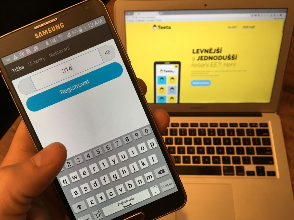 Webová účtenka by měla běžet i na tabletu nebo mobilu