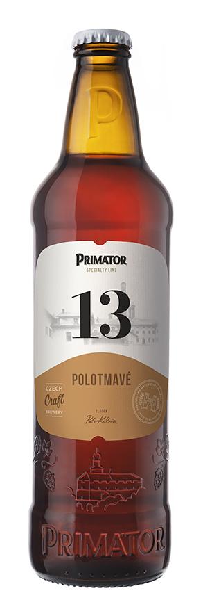 Nová podoba lahve a etikety Primátoru
