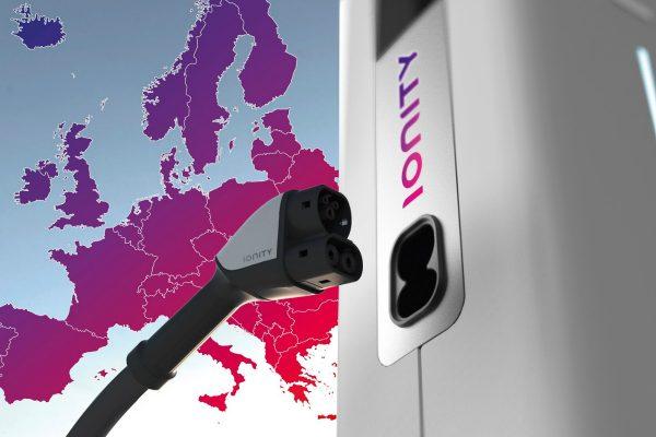 Shell s Ionity zbudují síť výkonných nabíječek pro elektromobily