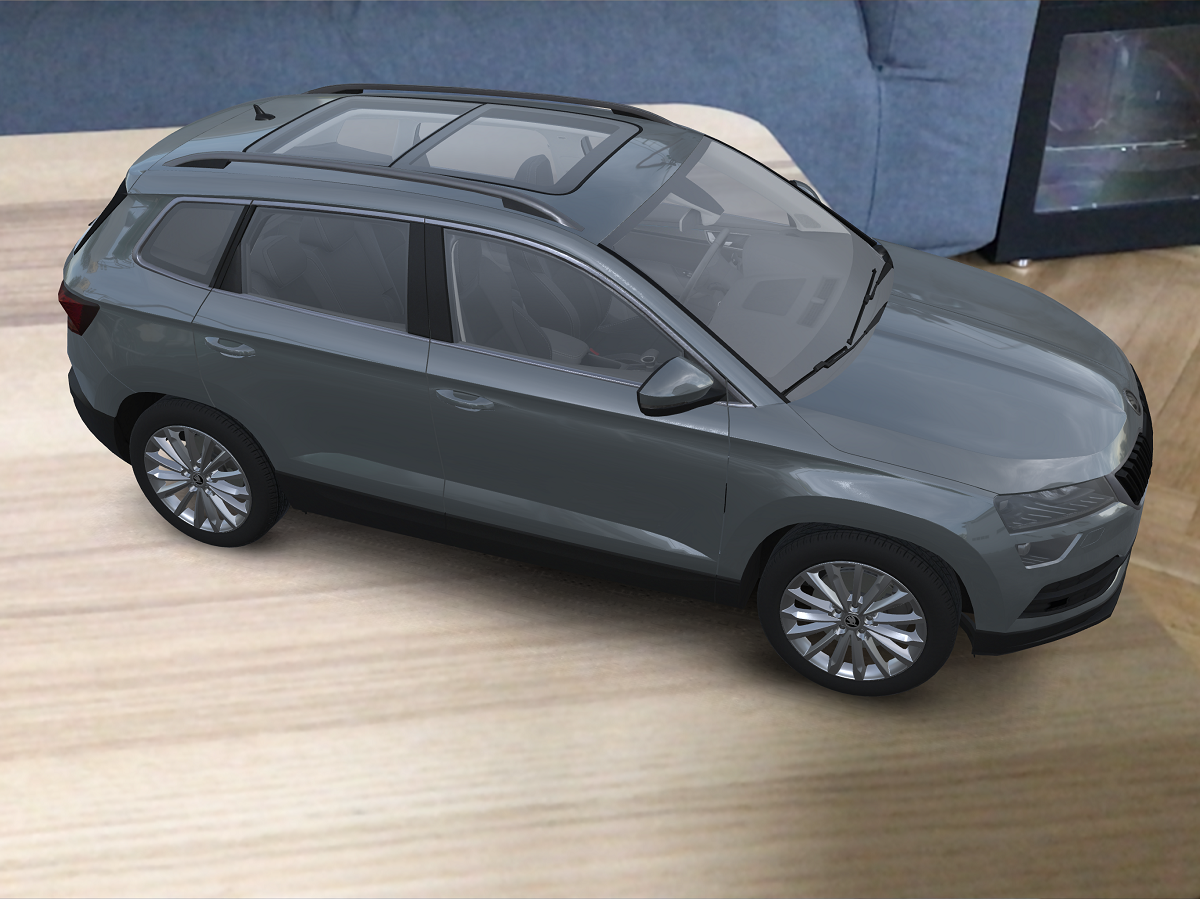 Virtuální model vozu Škoda Karoq