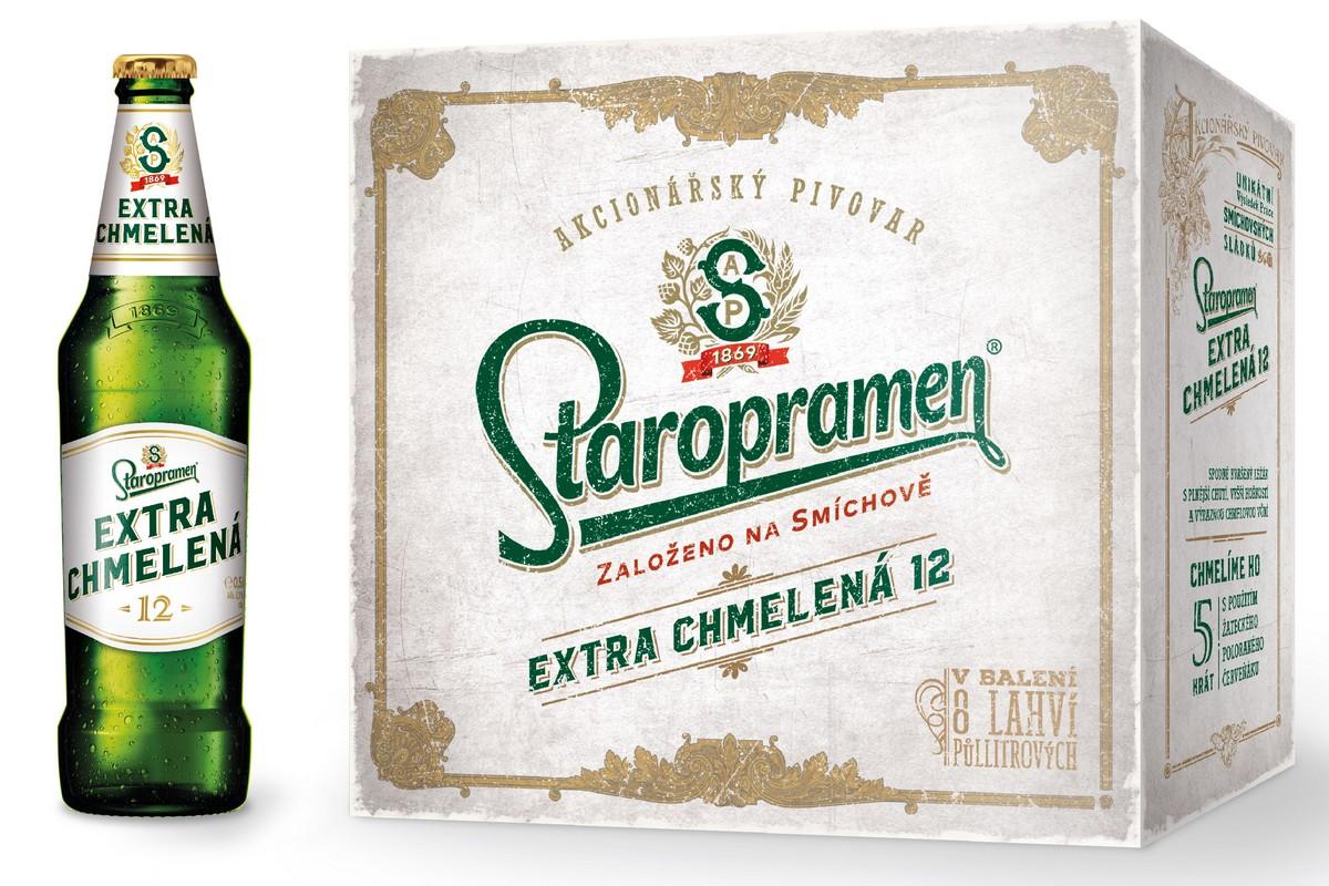 Staropramen dává poprvé do retailového prodeje multipack Extra chmelené dvanáctky