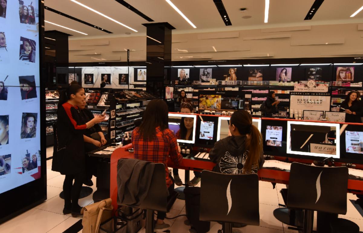 Dobře se zážitky v prodejním prostoru podle Wellenu pracuje i Sephora
