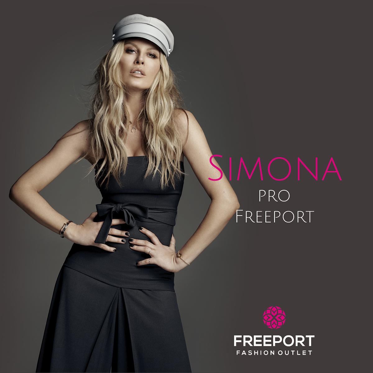 Simona Krainová pro Freeport Fashion Outlet