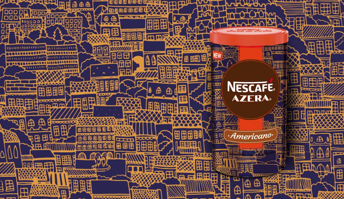 Nescafé Azera 2018: Taste of the city, návrh Kateřiny Zadákové