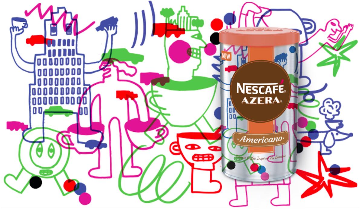 Nescafé Azera 2018: Taste of the city, návrh Přemysla Černý
