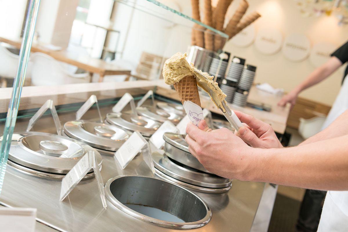 Zmrzlina v pobočce Angelata na Újezdě