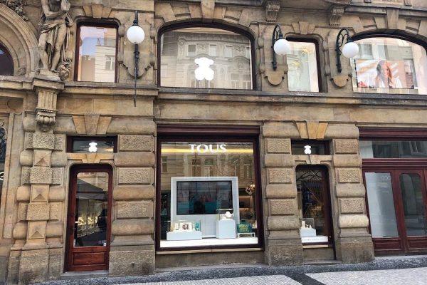 Šperkařství Tous otevřelo vlajkovou prodejnu v centru Prahy