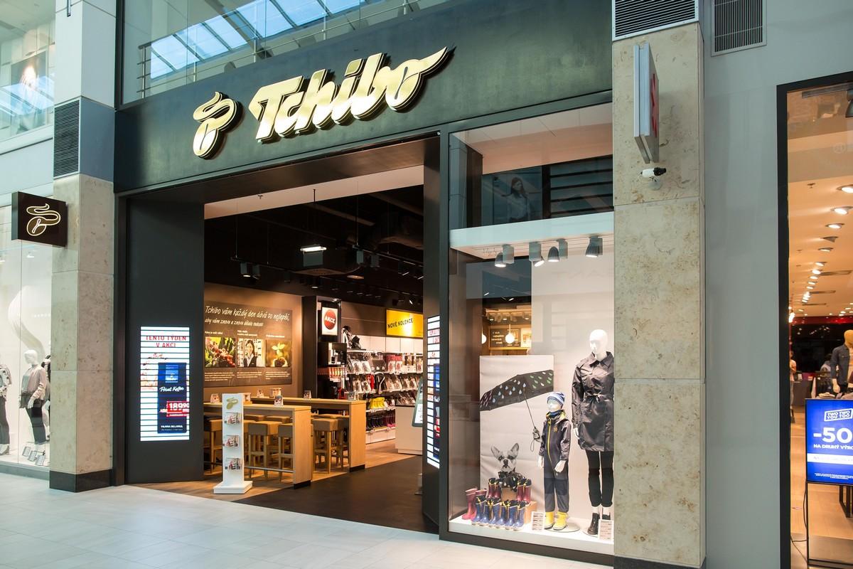 Tchibo Zličín je novým a prvním obchodem budoucnosti německé společnosti