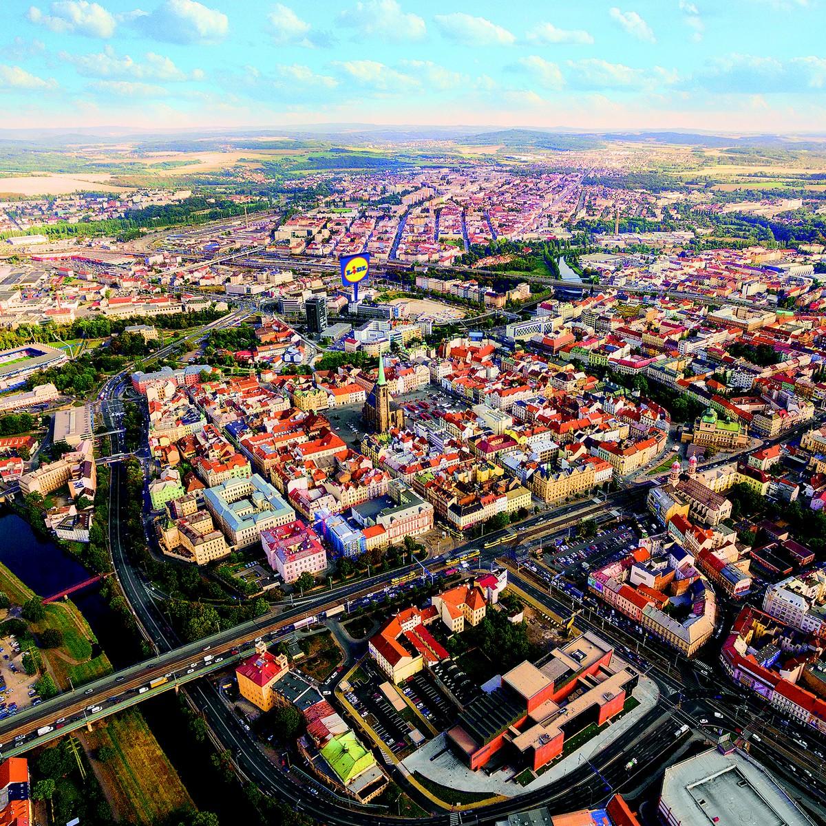 Umístění nové prodejny v Plzni