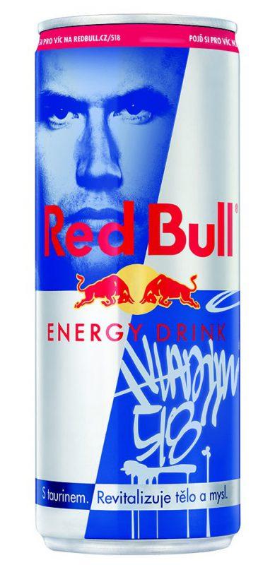Limitovaná edice plechovky Red Bull Hero Can