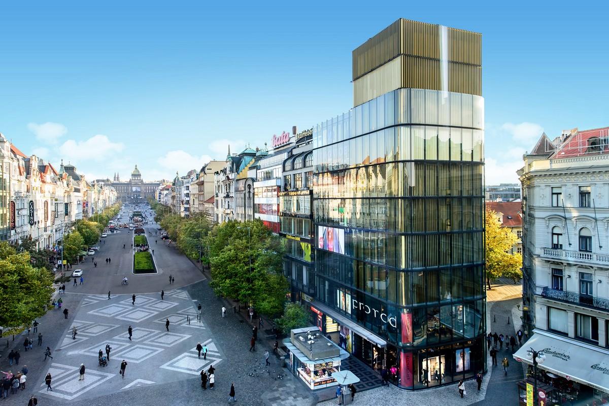 V Paláci Euro na Václavském náměstí otevře pětipatrový Foot Locker
