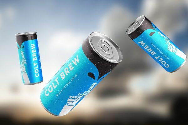 Ledová káva Colt Brew bude nově k dostání v plechovkách