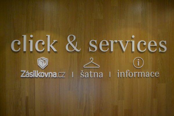 Nová Zásilkovna je umístěna mezi služby Click & Services