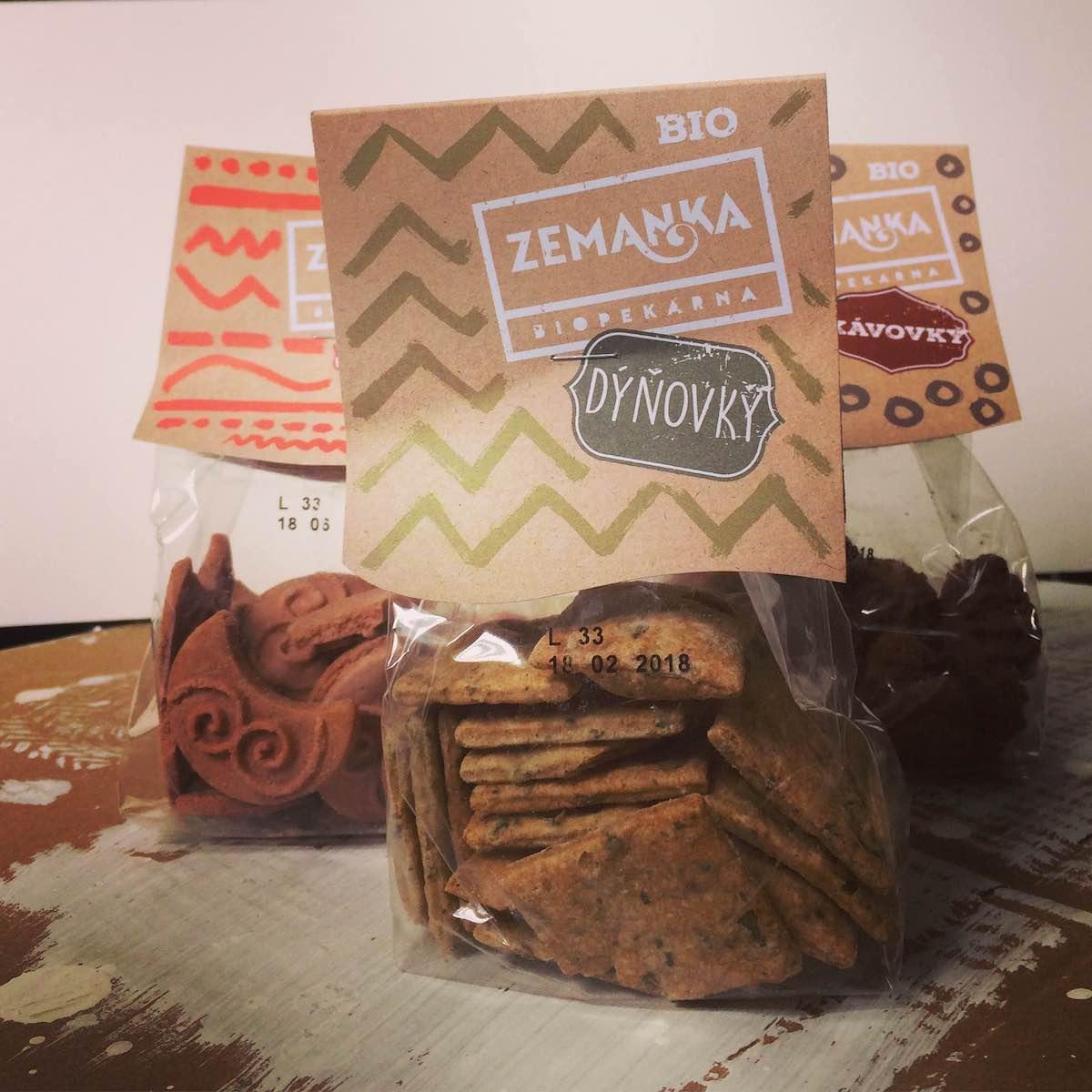 Nové obaly pekárny Zemanka