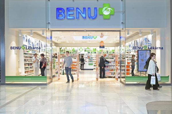 Lékárny Benu v Havířově a v Ostravě vystřídaly konkurenčního Dr. Maxe
