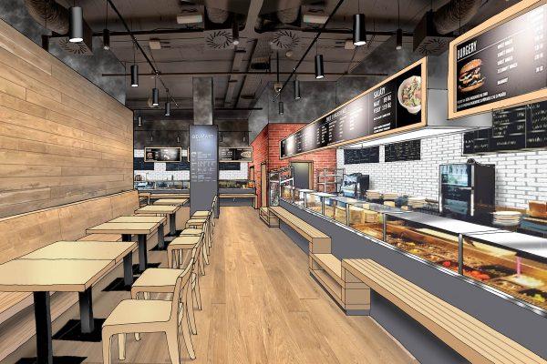 Delmart otevře prodejnu v Quadriu, přidá sushi od Sushiqueen