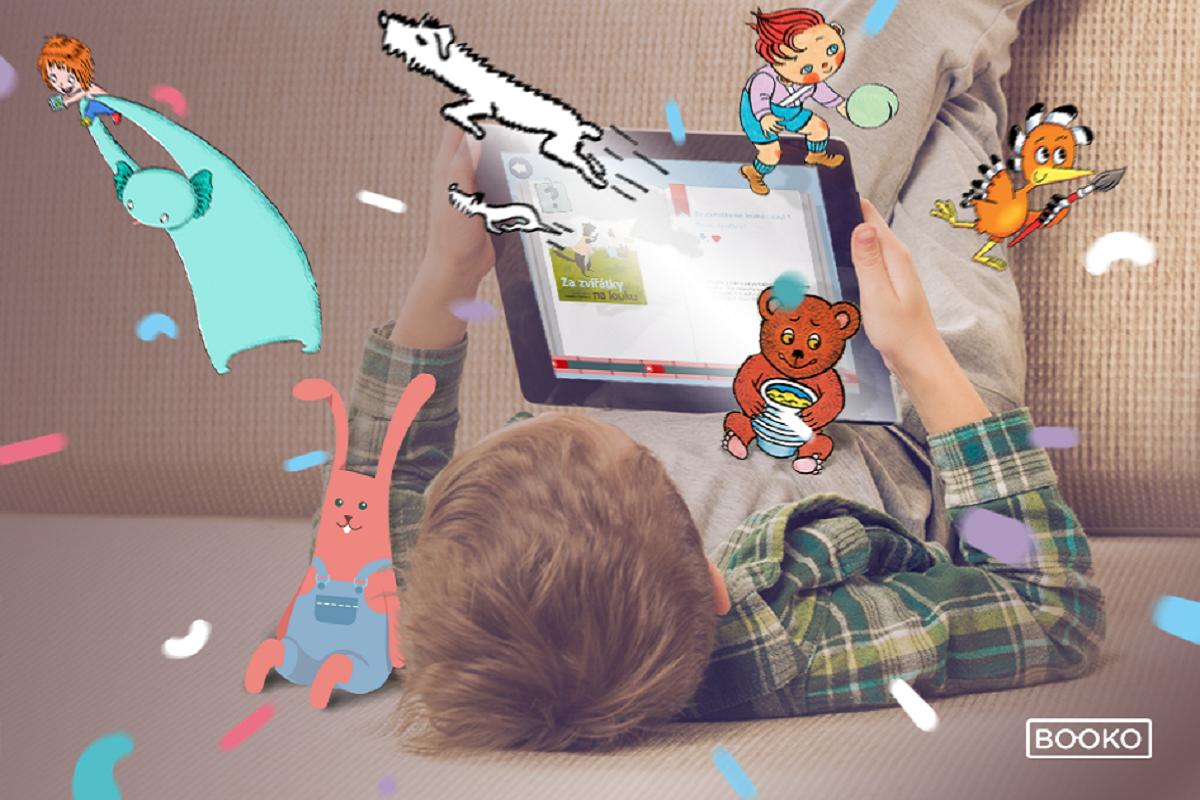 Aplikace Booko se snaží přilákat děti ke čtení interaktivním obsahem