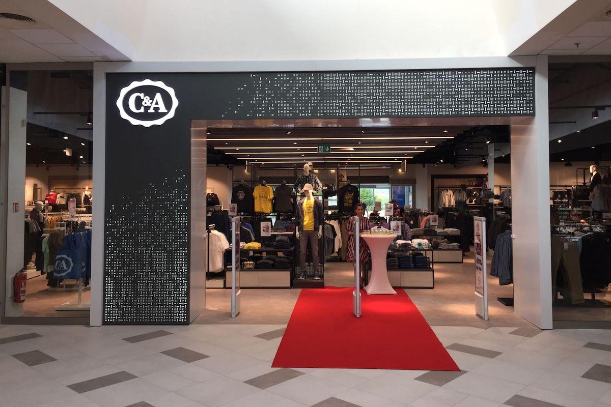 Nový koncept obchodu C&A v Obchodním centru Letňany
