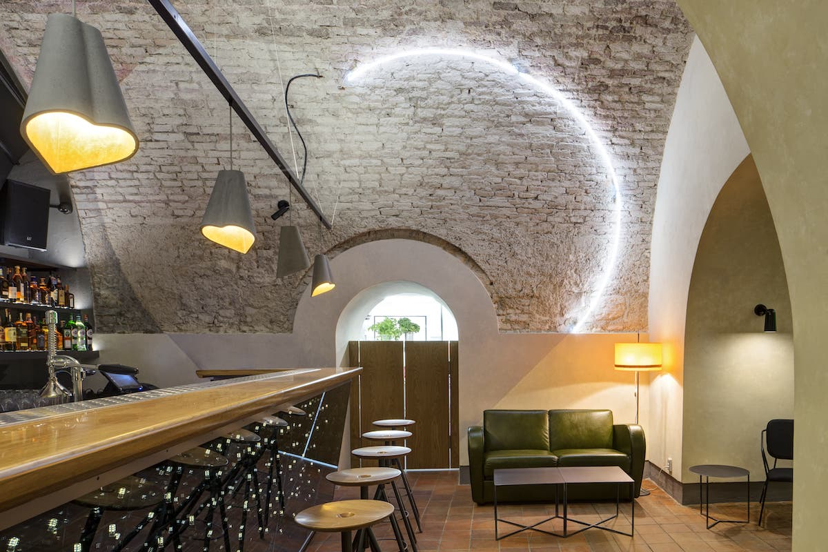 Interiér Cafe Elektric