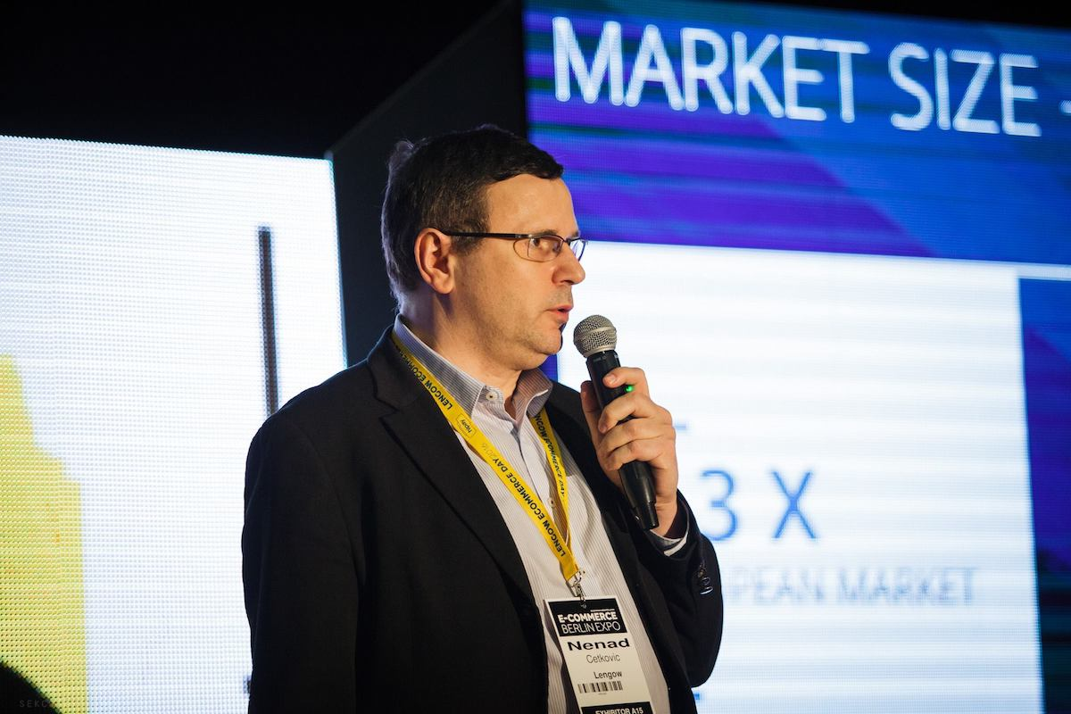 Nenad Cectković z Lengow. Foto: E-commerce Expo Berlin