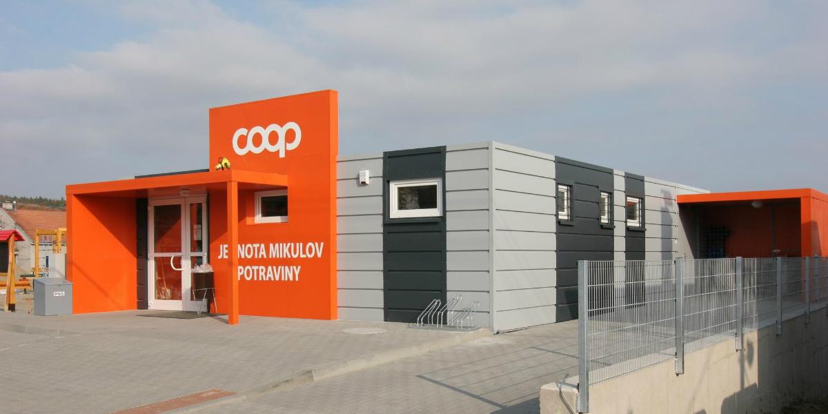 Nová prodejna Coopu v Mikulově
