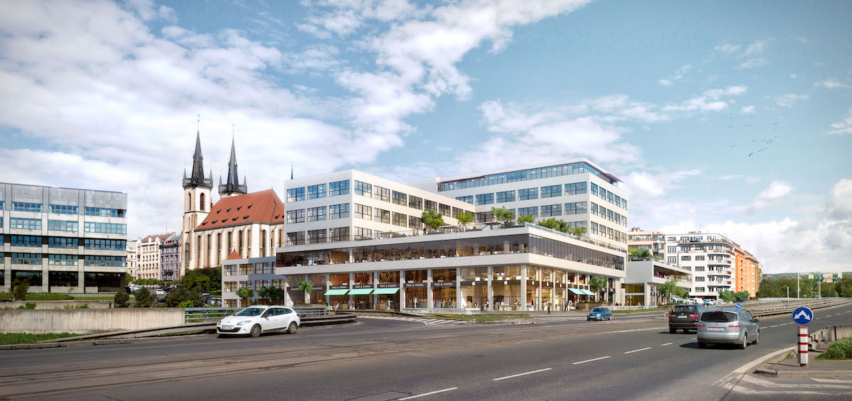 Památkově chráněná budova na adrese Bubenská 1. Foto: CPI