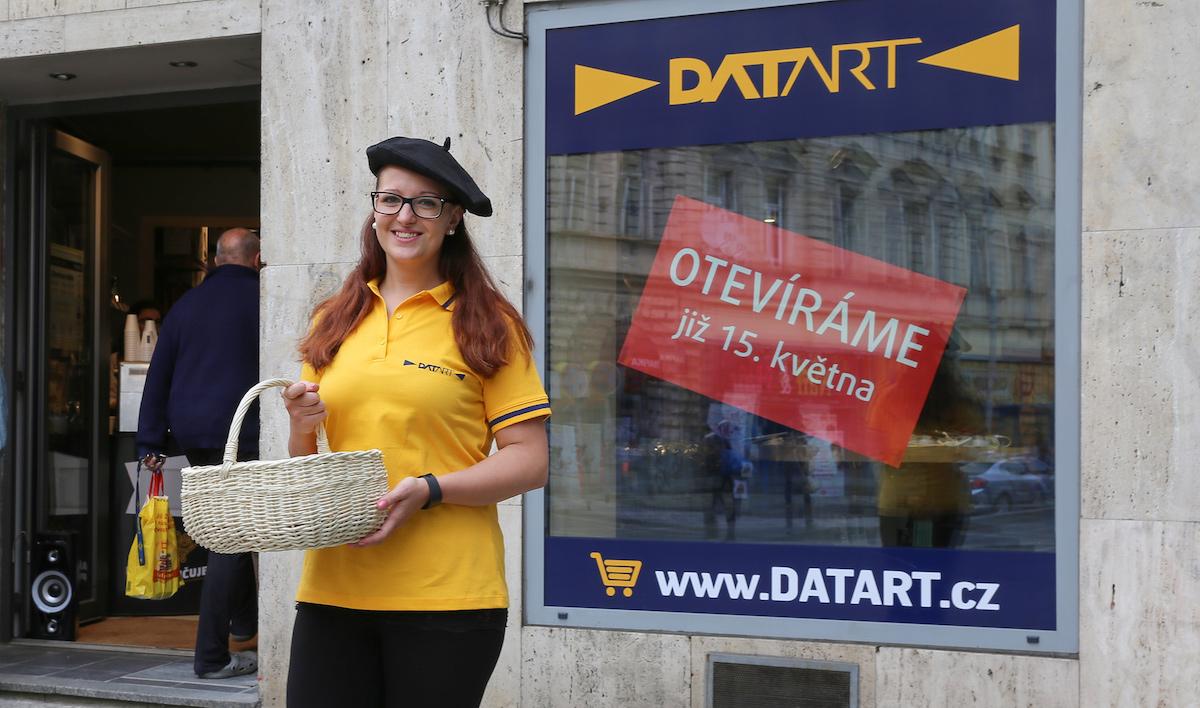 Otevření Datartu v pražské Francouzské