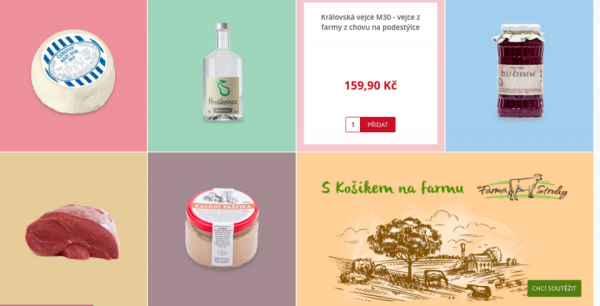 Na regionální potraviny se Košík.cz zaměřil přes gastro speciály