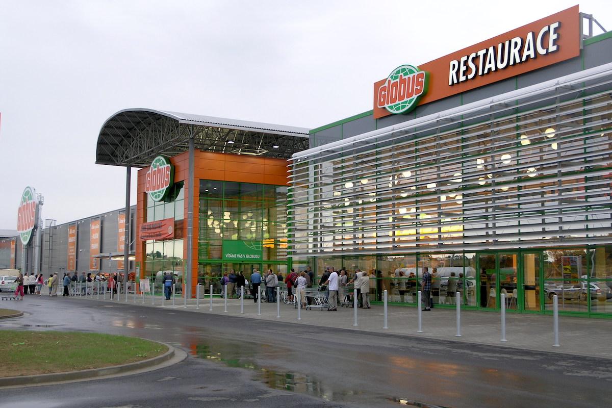 Hypermarket Globus v Ostravě