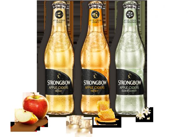 Nejúspěšnější ze ciderů skupiny Heinek byl Strongbow
