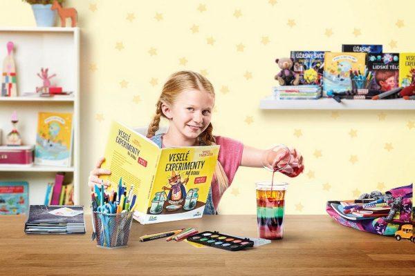 Albert má ve věrnostní kampani osm encyklopedií pro děti
