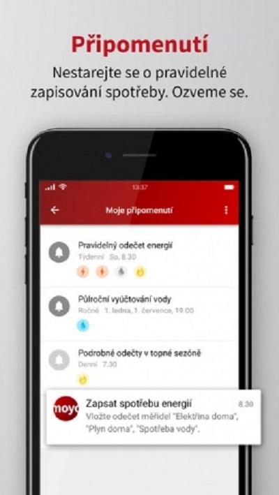 iMoyo nabízí i množství připomínek důležitých událostí