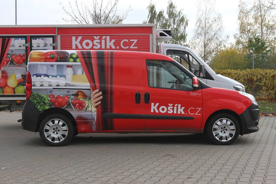 Vozy služby Košík.cz