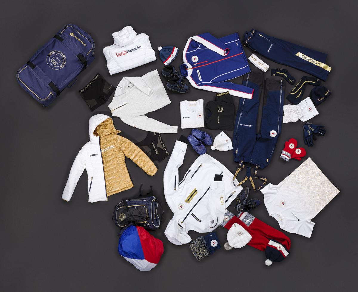Celá olympijská zimní kolekce