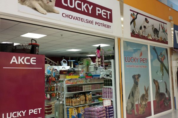 Pet Center přebírá prodejny Lucky Pet
