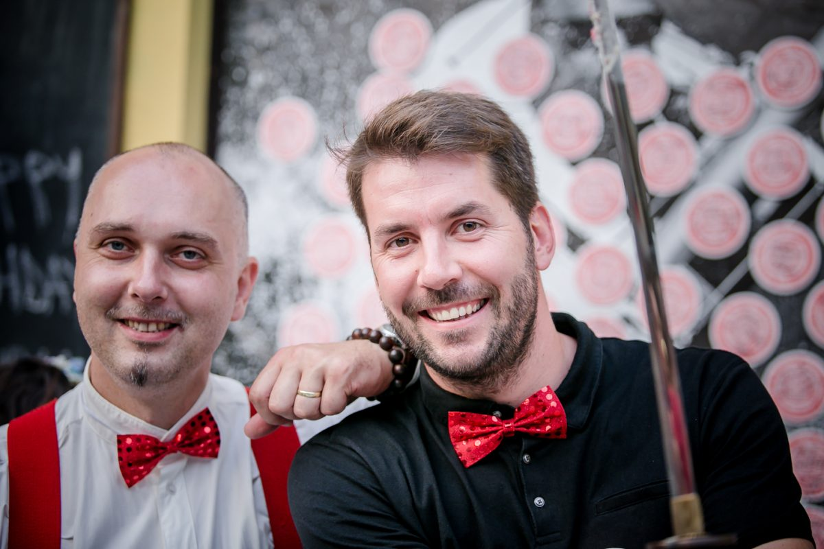Majitelé Samurai shot (zleva) Jaromír Horák a Martin Solnička