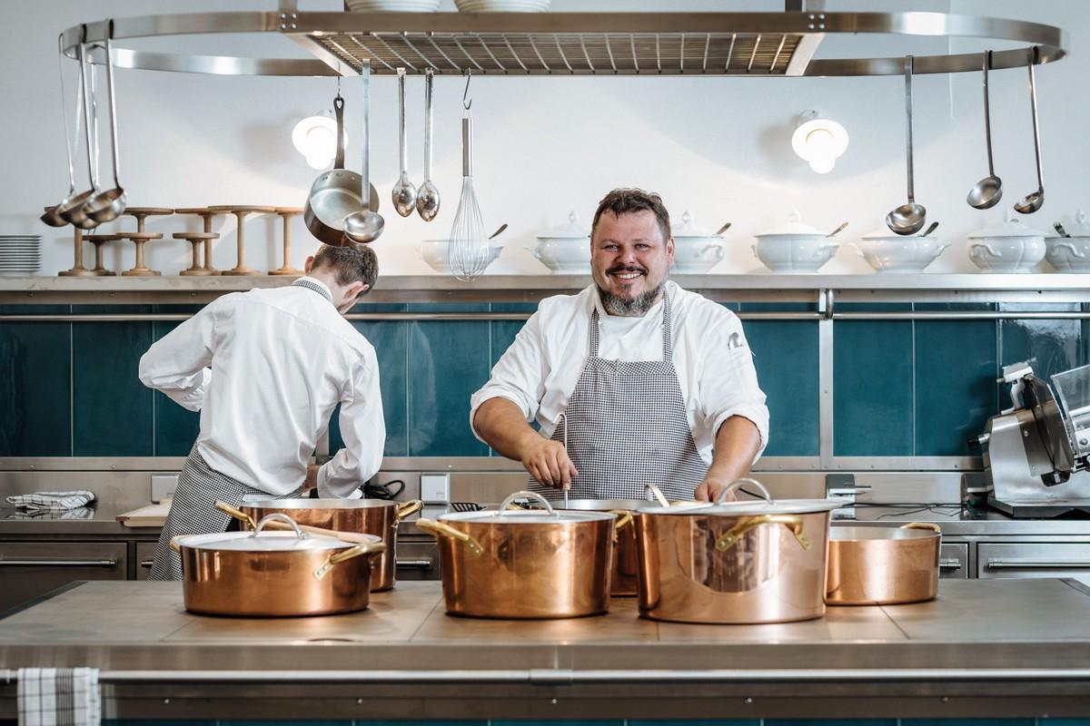 Marek Janouch, který vaří v nové Kuchyni