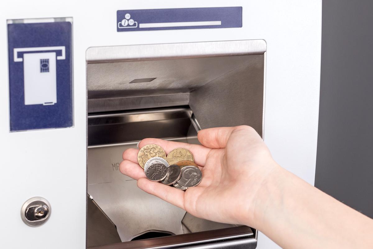 Speciální bankomat ČSOB umožní vložit až 350 mincí