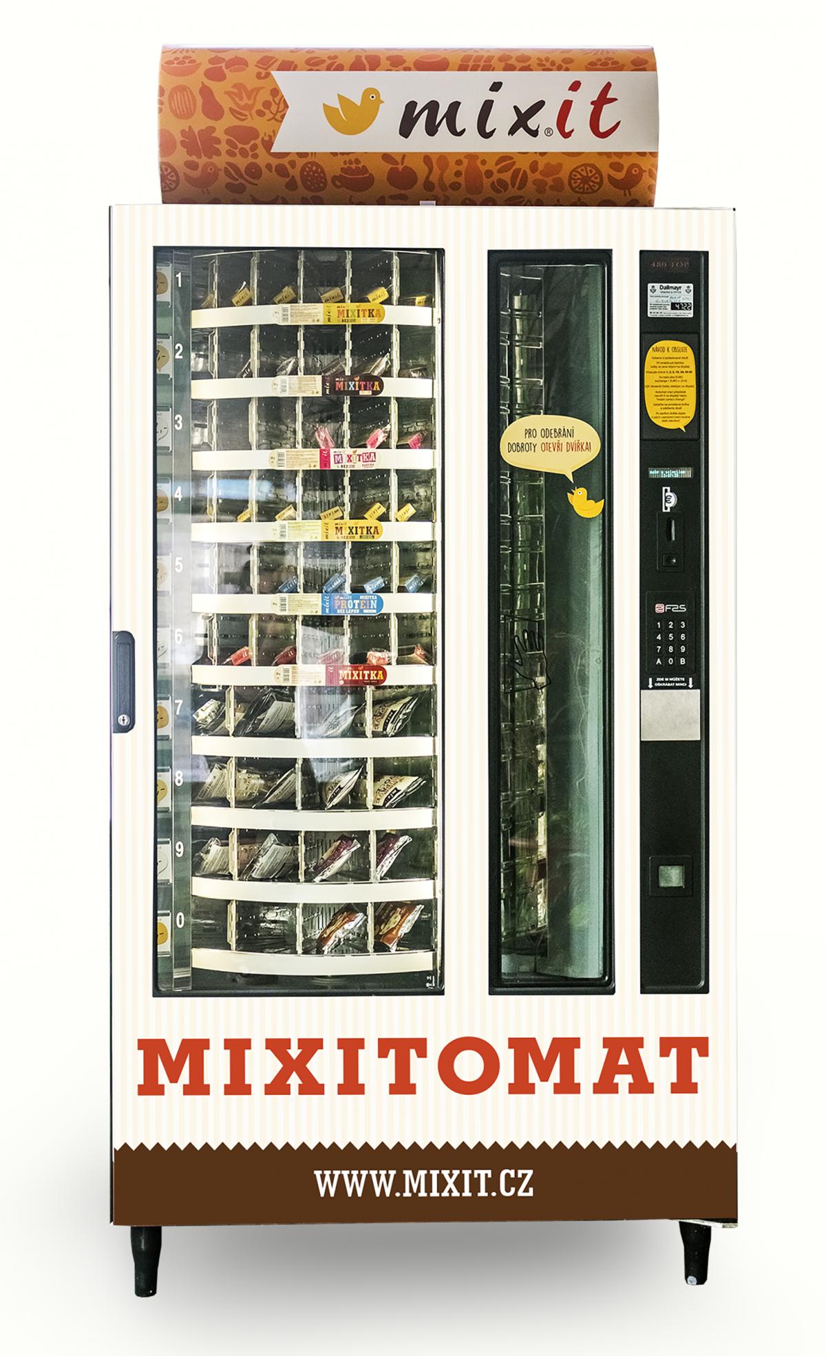 Automaty, které chce Mixit v Česku uvést