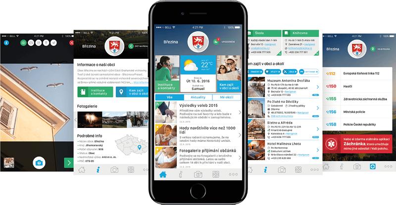 Aplikace Mobilní rozhlas zobrazuje aktuality z obcí