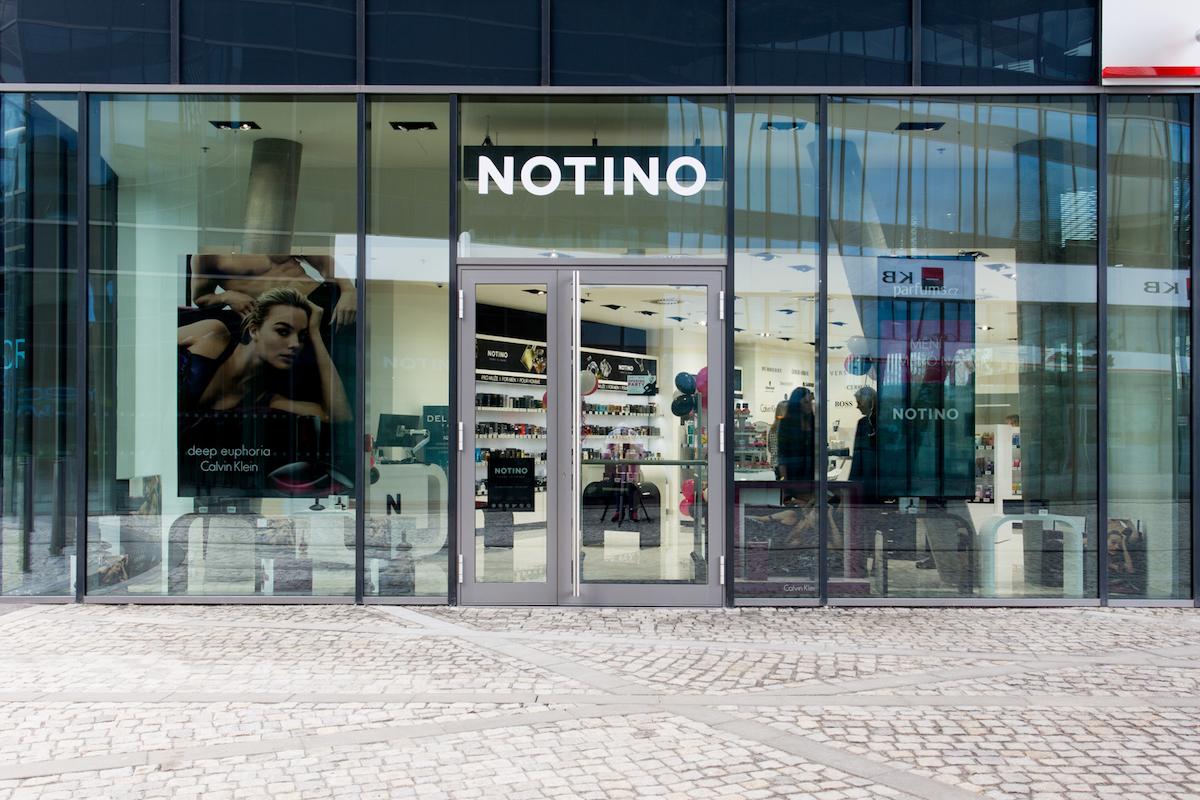 Nová kamenná prodejna značky Notino v ostravské Nové Karolině