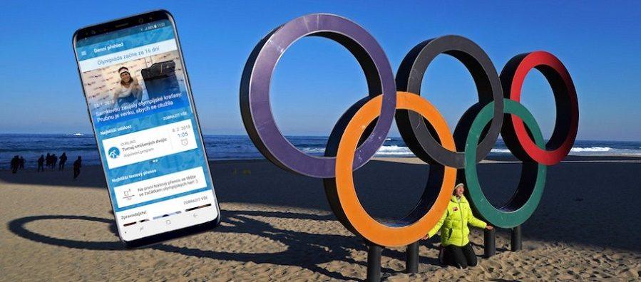 T-Mobile přináší v pořadí třetí olympijskou aplikaci