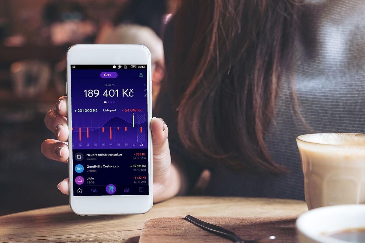 Multibankovní aplikace Richee nabídne přehled účtů až u šesti různých bank