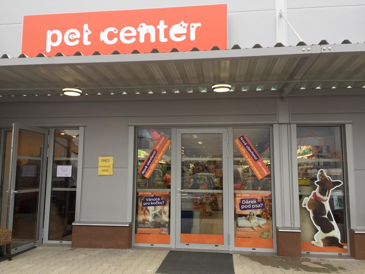Nová prodejna Pet Center v Šestajovicích
