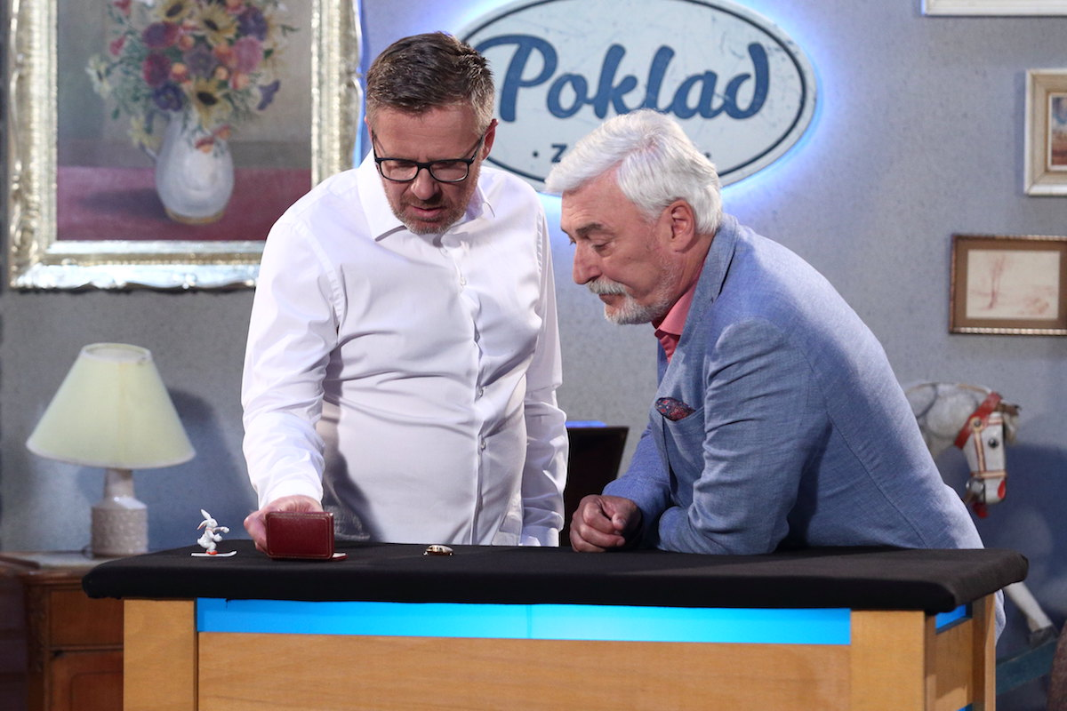 Jan Rosák bude na Primě prodávat starožitnosti. Foto: TV Prima