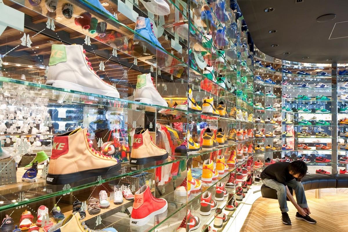 Prodejna Nike v Tokyu. Foto: Profimedia.cz