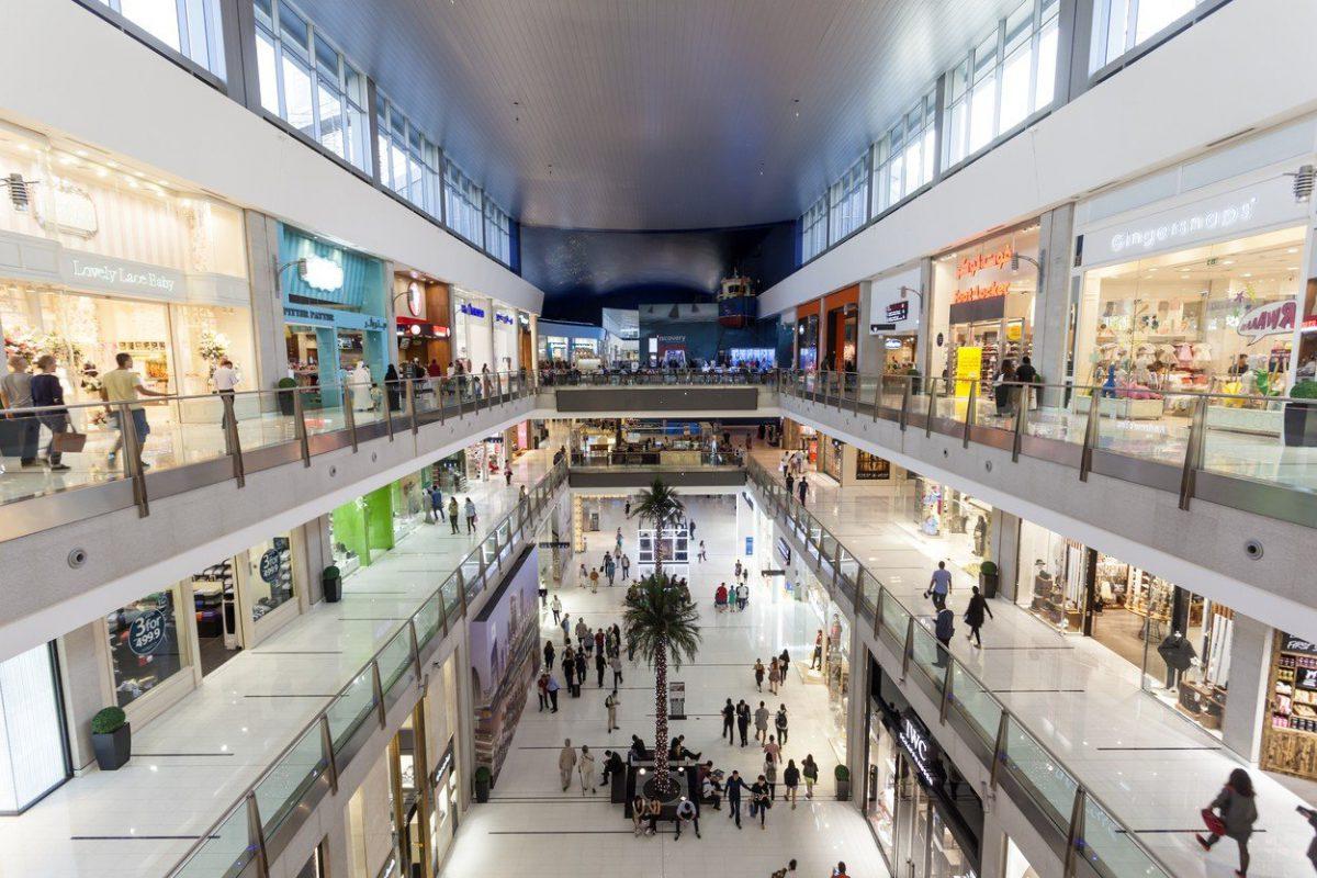 The Dubai Mall leží na ploše 1 124.000 metrů čtverečních. Foto: Profimedia.cz