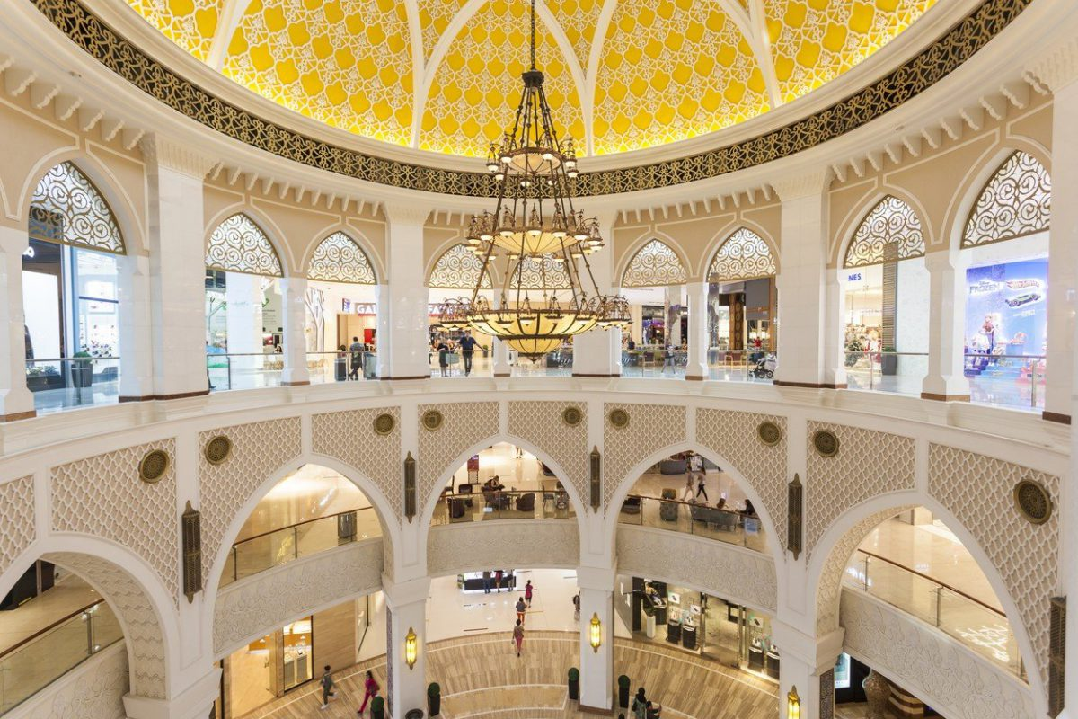 Interiér centra The Dubai Mall. Foto: Profimedia.cz
