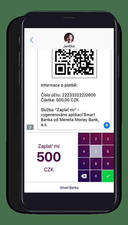 """Funkce s názvem Q360 umožňuje platit faktury přímo z mobilu. Doplňuje ji služba """"Zaplať mi"""""""