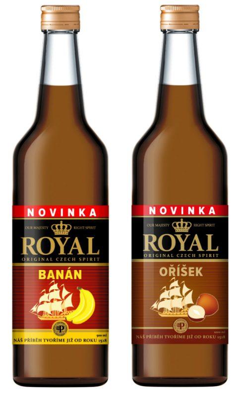 Nové varianty nápoje Royal
